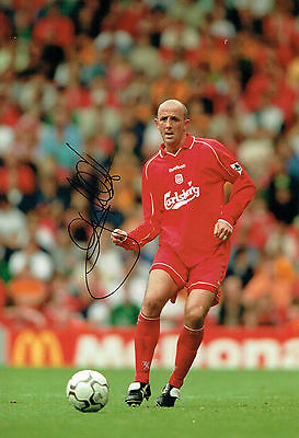 Gary McALLISTER Signed 12x8 Football Photo AFTAL COA Autograph Liverpool Legend