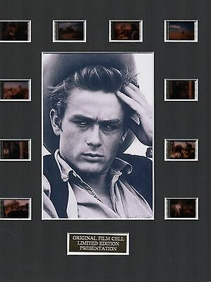 Giant feat James Dean Elizabeth Taylor 35mm Film Cell Display
