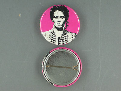 Rare Vintage Adam And The Ants Button Pin Condition New