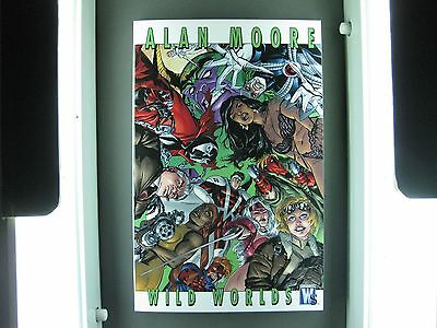 Alan Moore Wild Worlds Tpb  Condition Mint