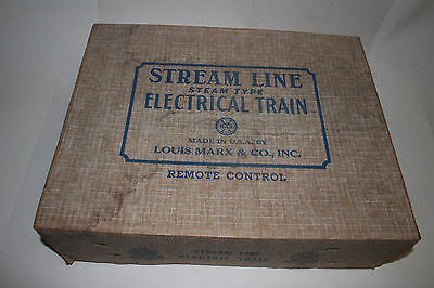 1950's Marx Stream Line Steam-Type Electrical Train Set No. 4950