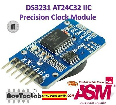 DS3231 AT24C32 IIC Module Precision Clock Module DS3231 for Arduino