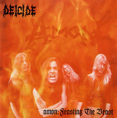 DEICIDE - AMON FEASTING THE BEAST Art Print Poster 24 x 24