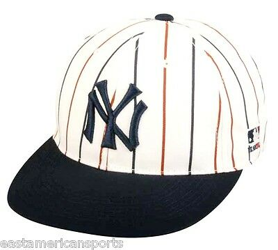 87120345314 New York Yankees MLB OC Sports Hat Cap Cooperstown White Pinstripes NY Team  Logo