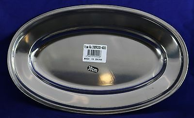 30cm Stainless Steel Serving Tray 4000