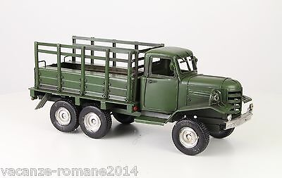 Blechauto - Army Truck- A Tin Model Of An Army Truck 42 cm x 14 cm x 17 cm