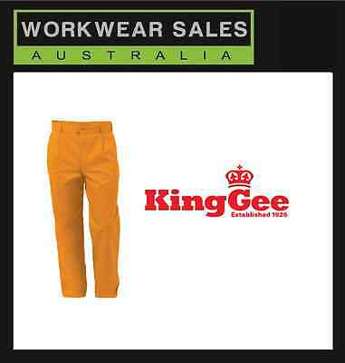 King Gee Steel Tuff Drill Trousers mens size 82r New