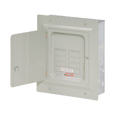 Small Eaton 125-Amp 6-Space 12-Circuit Wall Indoor Load-Breaker Electrical-Panel