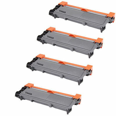 4PK TN660 (TN630) High Yield NON- OEM for Brother DCP-L2520,L2540,HL2320,HL2305