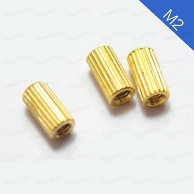 M2 Female Brass Threaded Column Standoff Support Spacer Pillar for Camera