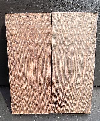 Wenge book matched Knife scales/Knife making