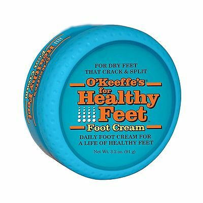 O'Keeffe's Healthy Feet Foot Cream used for Cracked/Split Dry Skin, Non Greasy