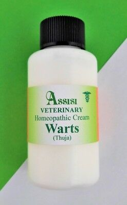 ASSISI HOMEOPATHIC THUJA CREAM/LOTION 50ml FOR HORSES & DOGS, WARTS & SARCOIDS