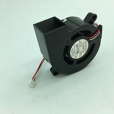 DC 0.14A 12V Fans 60 x 23mm 3 Wires Turbine Brushless Cooling Blower Fan BM6023