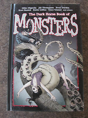 Dark Horse Book of MONSTERS   HARD COVER first edition 2006