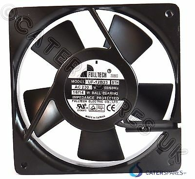 FULLTECH BRANDED AXIAL SQUARE PANEL COOLING FAN MOTOR 120x120x25 UF120B23BHW