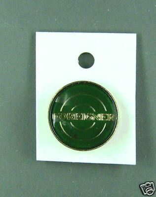Rare Vintage Foreigner Green  Enamel Pin  Condition New