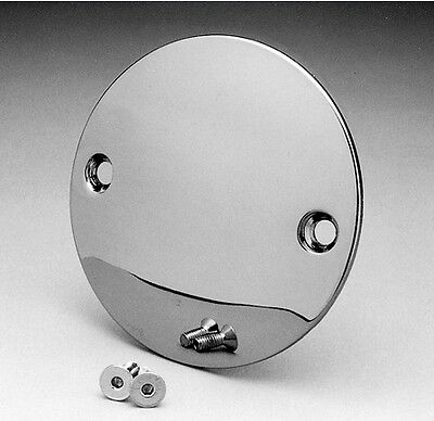 Chrome Domed 2 Hole Point Cover For Harley Big Twin Sportster 70-03 Free Ship
