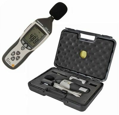 Digitech Sound Level Meter-Pressure-Spl-Db Tester With Calibrator - Class 2