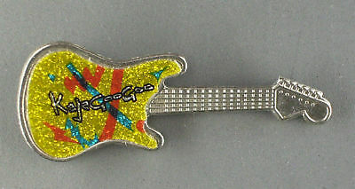 RARE VINTAGE Kajagoogoo Guitar Shaped Pin CONDITION NEW