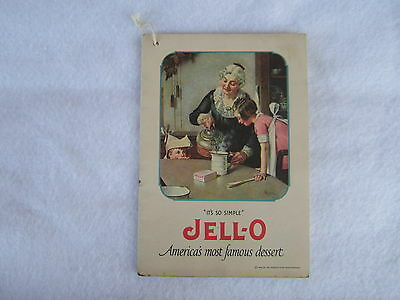 1922 JELL-O Norman Rockwell Recipe Booklet - JELLO