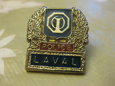 Laval  Police Pin Back