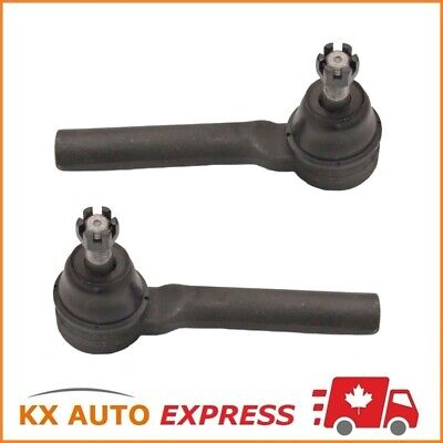 2X Front Outer Tie Rod End For Buick Allure (Can) 2005 2006 2007 2008 Es3459
