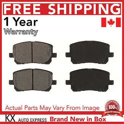 Front Ceramic Brake Pads For Toyota Corolla 2003 2004 2005 2006 2007 D923