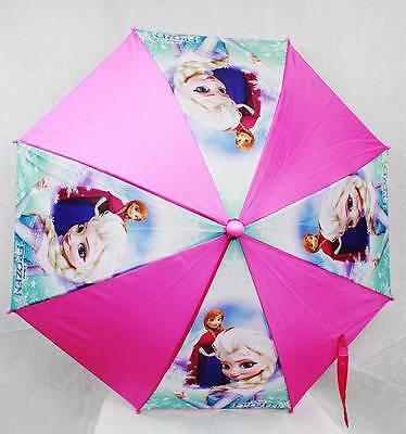 NWT Frozen Elsa and Anna Umbrella by Disney Newest Style Rainy or Sunny Day NEW