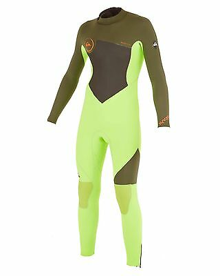 NEW QUIKSILVER™  Boys 2-16 Syncro GBS 3/2MM Back Zip Steamer Wetsuit Boys Teens