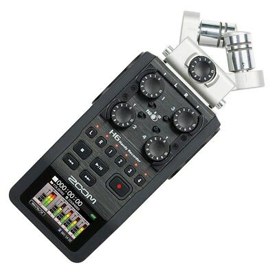 Nuovo Zoom H6 Handy Recorder With Interchangeable Microphone System
