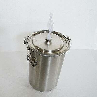 20L Fermenter Tank Fermentation Brew Kettle Home Wine  Maker Pot