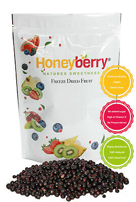 Freeze Dried Whole Blackcurrants 100g