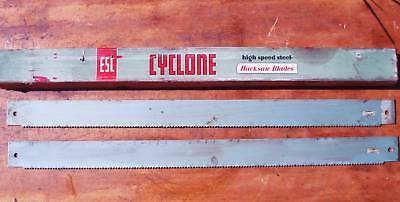 "2 pieces England HSS Power Hacksaw Blade, Cyclone ESC , 600mm 24"" x 1 3/4"" x 6T"