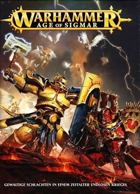 Age of Sigmar Buch (Deutsch) Games Workshop Warhammer Fantasy AoS