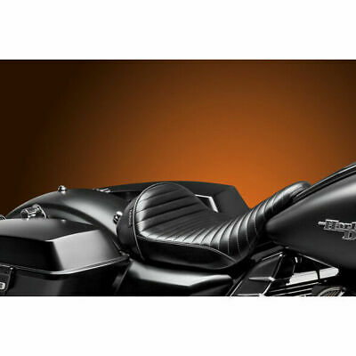 Asiento Para Harley-Davidson® Touring Le Pera Stubs Cafe Pleated Solo Seat