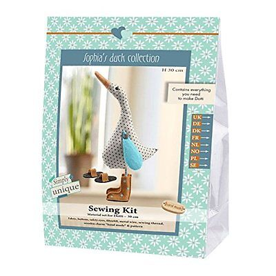 Go Handmade Dotti The Duck 30cm Sewing Needlework Complete Kit!