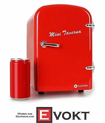 Klarstein Mini Taverna Fridge Cool / Warm Box Red 10011313 Genuine New