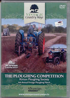 The Ploughing Competition (Kirton Ploughing Society) DVD 6th Annual Vintage