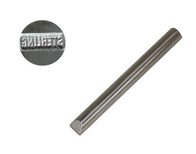 """1 Mm Jeweler's Steel Stamp """"sterling"""" Straight Silver Jewelry Punch"""
