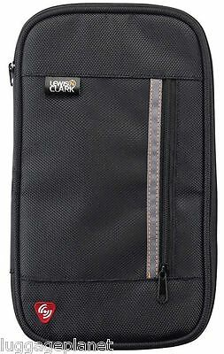 Lewis N Clark RFID Blocking Zippered Passport Ticket Document Organizer 1248