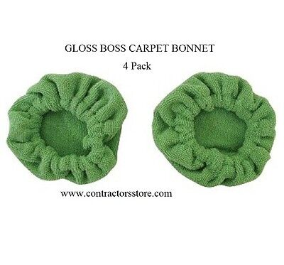 Pullman Holt Gloss Boss Mini Carpet Bonnets 4 Pack