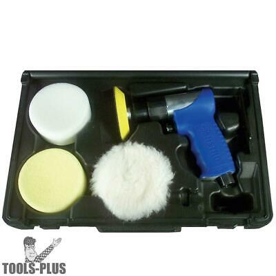 """Astro Pneumatic 3055 3"""" Mini Air Polishing Kit with Pads & Case New"""