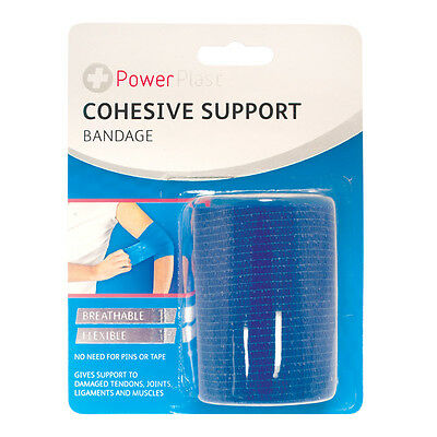 COHESIVE SUPPORT BANDAGE FLEXIBLE BREATHABLE 7cm x 4m FAST & FREE DELIVERY