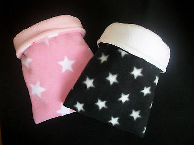 Cozy Pets  Guinea Pig Bed,fleece Snuggle Pouch Cuddle Cup Sleeping Bag Sack