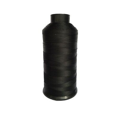 Dollylocks - Black Nylon Weaving Thread (4oz Spool) Extensions,Weaves & Dreads