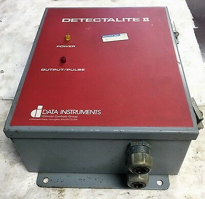 Data Instruments- Detectalite Ii 4129501 Ac System Relay Enclosure