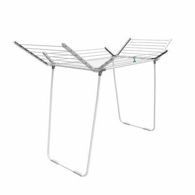 Hills Clothes Line Airer Premium 4 Wing 22.5m Portable Clothesline Drying Rack