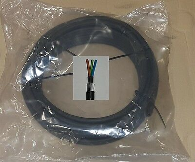 4 mm² 6943X 3 core 3 x 4 mm² SWA steel wire armoured cable BASEC 25m GRN-YEL