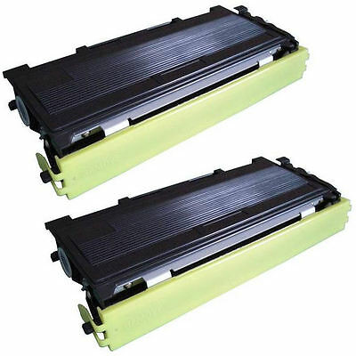 2PK Toner for Brother TN350 HL2030 HL2040 DCP-7020 MFC-7220 MFC-7420 MFC-7820N